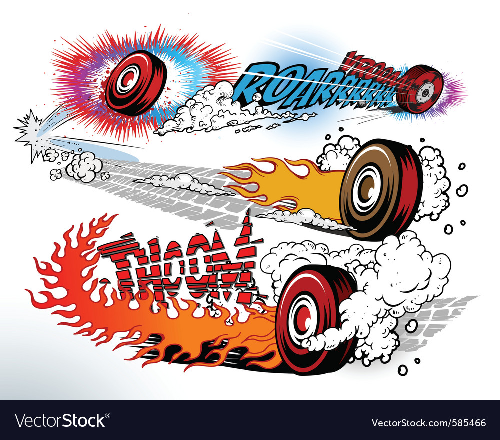 Hot wheels vector