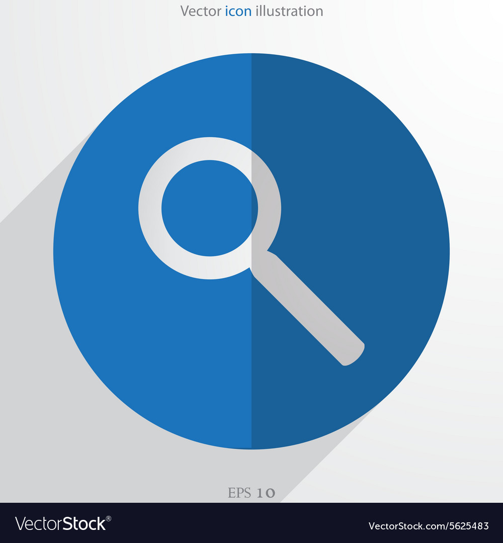 Search web flat icon vector