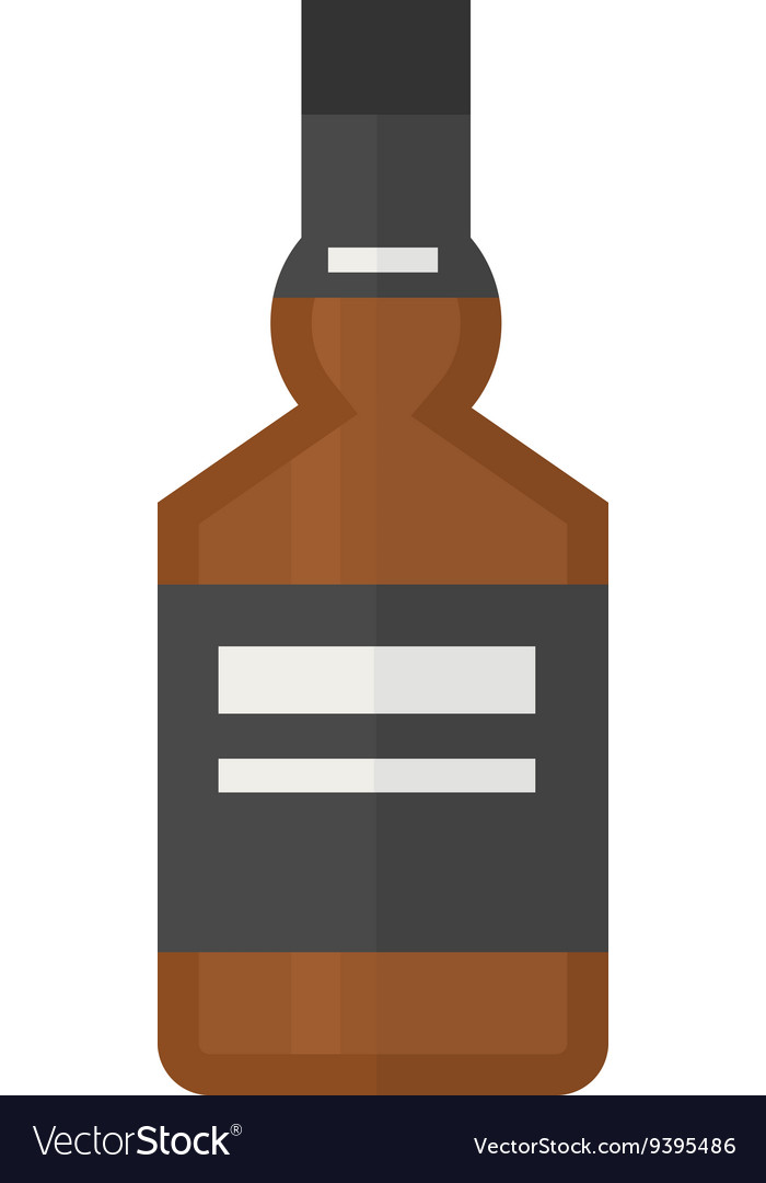 Alcoholic beverage vector