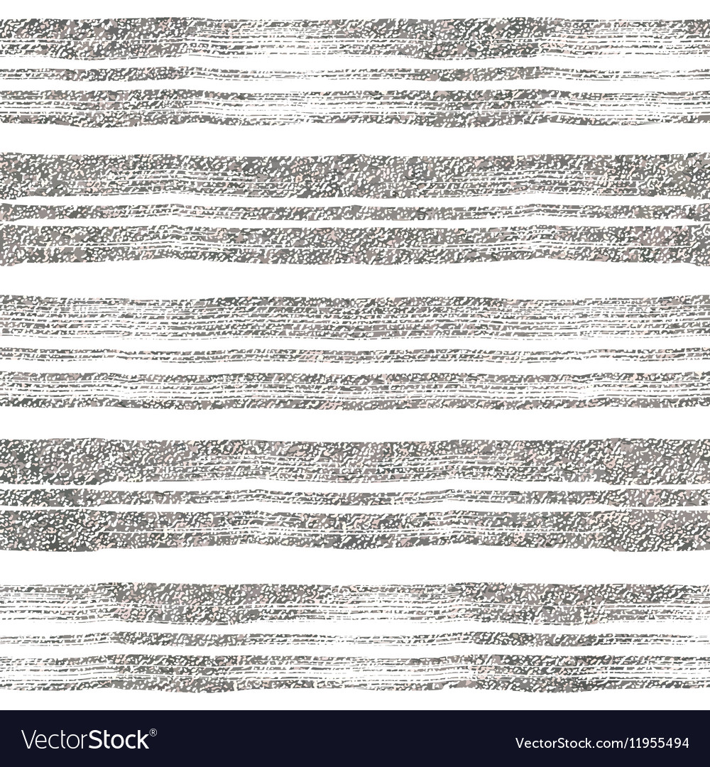 Seamless pattern of silver lines vector
