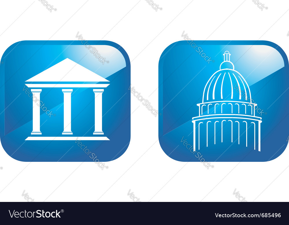Capital designs vector