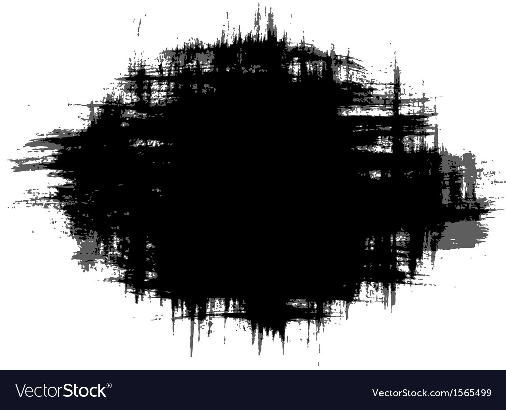Strokes of paint vector