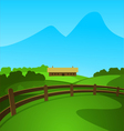 Summer in the Valley vector image
