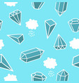 diamonds in the sky vector image