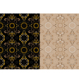 Variations delicate seamless pattern vector image