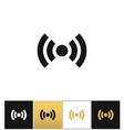 Wi-fi wireless signal spot symbol icon vector image