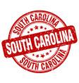 south carolina vector image