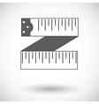 Centimetr icon vector image vector image