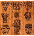 Masks vector image vector image