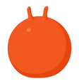 fitball icon cartoon style vector image