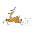 cartoon spotted deer vector image