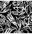 flower rose seamless 3 vector image