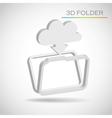 folder vector image vector image