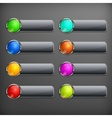 Set of design elements on vector image vector image