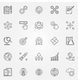 Innovation icons set vector image