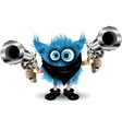 Monster of the Crime vector image vector image