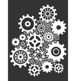 gears background vector image