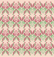seamless old ornament vector image
