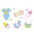Children items vector image vector image