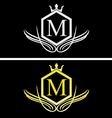 Luxury logo 3 vector image