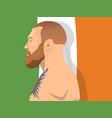 martial arts topic vector image