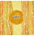 Striped summer background vector image vector image