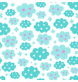 seamless creative pattern vector image