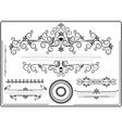 Decorative ornament border vector image vector image