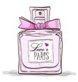 parfume love in paris vector image