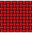 Red and black geometric pattern vector image