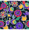 seamless floral background Colorful vector image