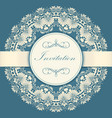 wedding invitation and announcement vector image
