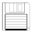 floppy vector image vector image