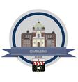 Charleroi vector image