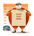 Condemned to Obesity vector image