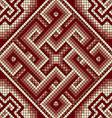 classic Greek ornament seamless vector image