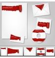 corporate design vector image