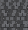 emboss rectangle pattern background vector image vector image