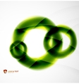 Unusual blur wave abstract background vector image