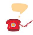Phone icon retro design vector image