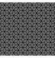 Seamless geometric op art texture vector image vector image