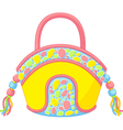 summer handbag vector image