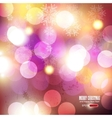 elegant christmas backgrounds vector image vector image
