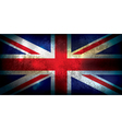 Union Jack United Kingdom Flag Grunge vector image vector image