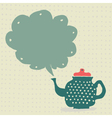 Tea set seamless vector image
