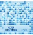 Blue mosaic small tiles texture background of spa vector image