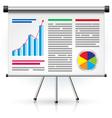 business schedule vector image