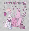 Happybirhdaycard vector image