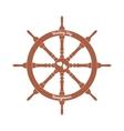 wedding steering wheel with hearts vector image