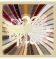Vintage abstract background eps10 vector image vector image